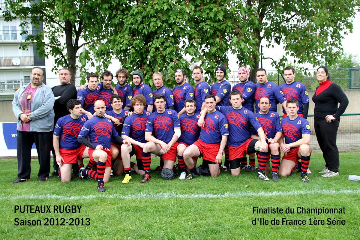 Puteaux Rugby finaliste IdF 2012-2013